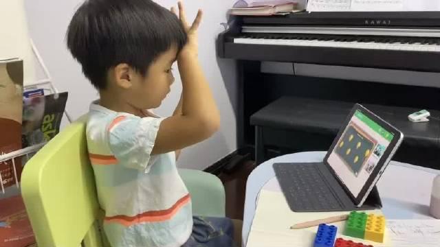 Eric的数学思维课实录 和老师一块做互动,很有意思呢~