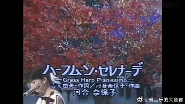 《月半小夜曲 》日文原版,河合奈保子歌声真是美哭了!