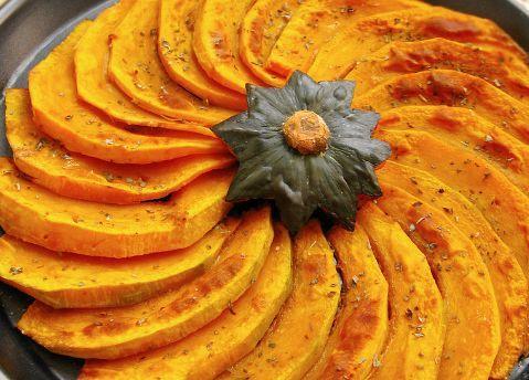 入秋后,南瓜要多吃!最好用来烤着吃,清甜软糯又营养,香喷喷