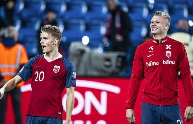 黄金一代!挪威足球正迎来年轻人井喷,4年前FIFA排名低中国1位