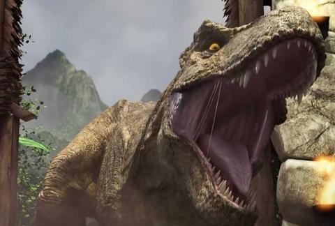《侏罗纪世界3》棘背龙回归又一证据,《白垩纪营地》隐藏线索