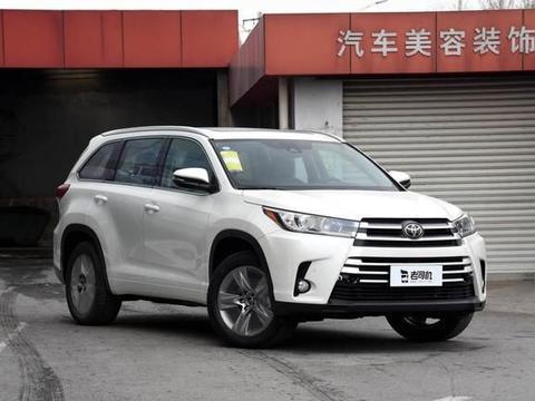 """丰田:这款车至今""""无人能敌"""",7座+四驱,中型SUV还得是汉兰达"""