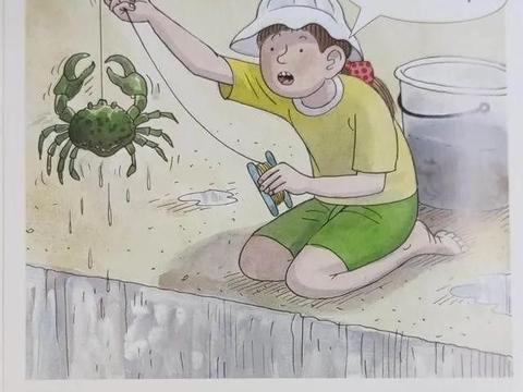 牛津阅读树连载The Enormous Crab亲子英语启蒙