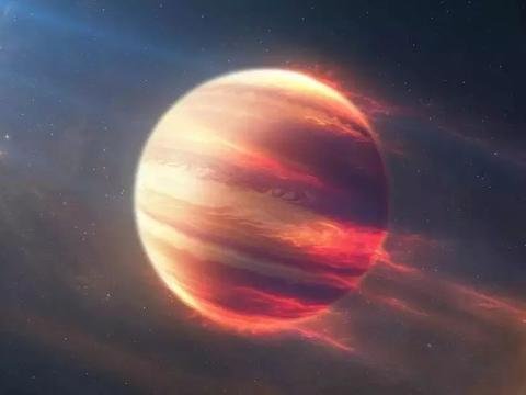 """首次测量到:一颗遥远""""超级木星""""的自旋,比木星还重11倍!"""