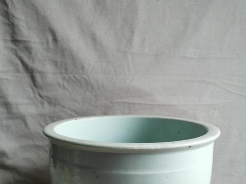 清康熙白瓷缸