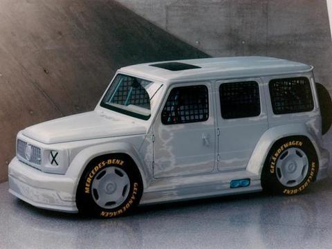 梅赛德斯-奔驰与Virgil Abloh力作Geländewagen艺术概念车揭晓