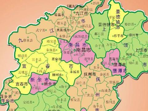 江西发展大设想:南昌、九江、抚州合并,组成超级大城市