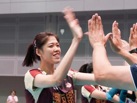 李盈莹领跑全锦赛争冠,张常宁紧随其后,王梦洁暂时处于下风!