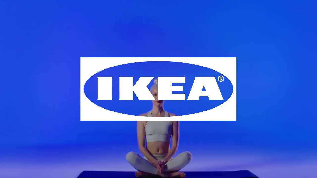 瑜伽动作变家具?