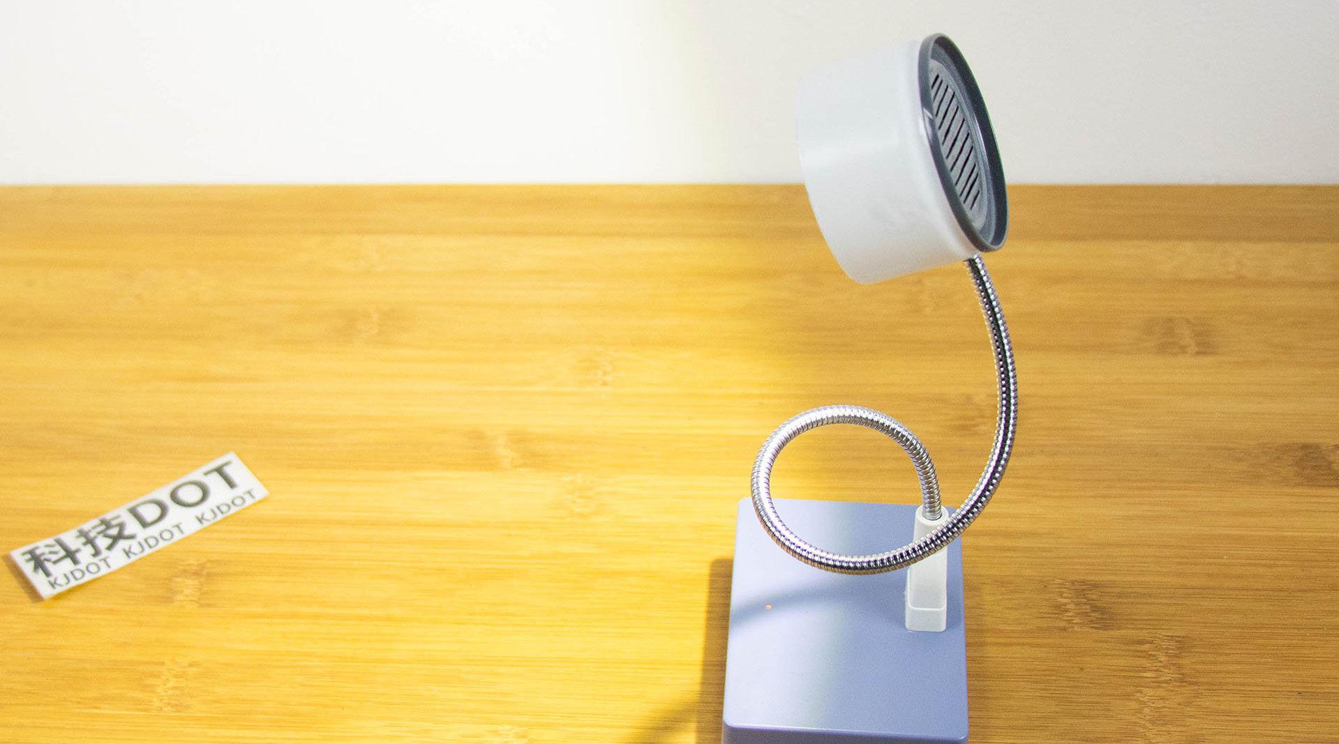 一台可以触摸调光的台灯 手工DIY充电LED夜灯