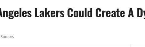 美媒建议湖人追字母哥组3巨!7换1方案出炉,詹眉要为MVP当副手