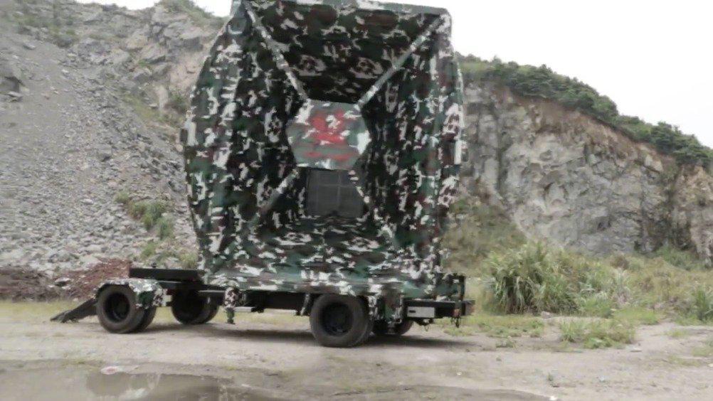 可能是世界上最大的防空警报器——浙江台州狮王信号有限公司生产