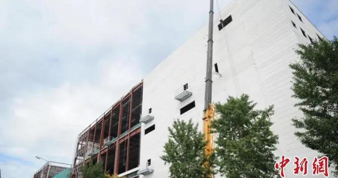 北京冬奥会主物流中心总体进度完成75% 可如期交付使用