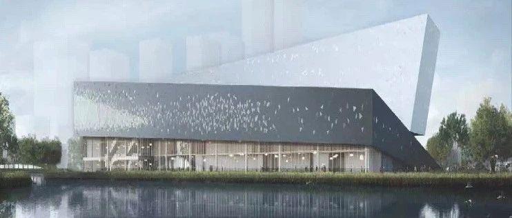 这个张江科学城的重点项目钢结构封顶,预计明年竣工