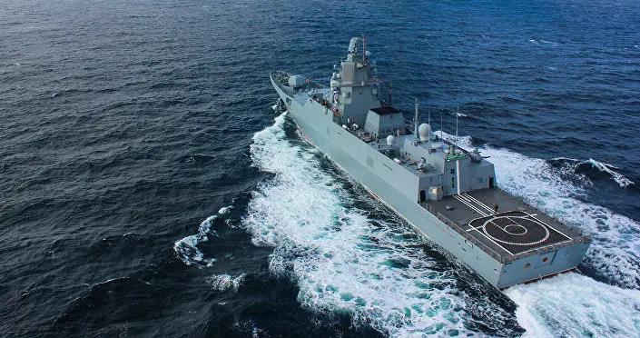 瑞典海事部门:与货船相撞的俄军舰没有使用自动识别系统