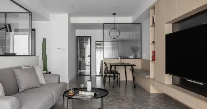 简欧风格三居室精美装修,109平米的房子这样装才阔气
