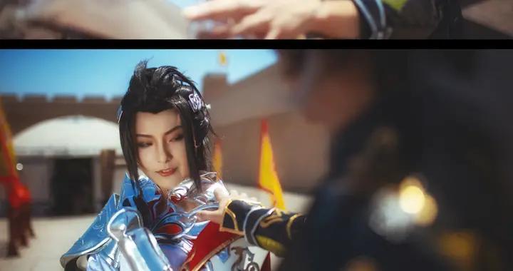 剑网三 苍策·往事cosplay