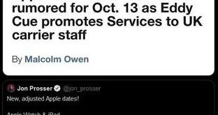 10月13日苹果第二场发布会 iPhone12 Pro或延迟