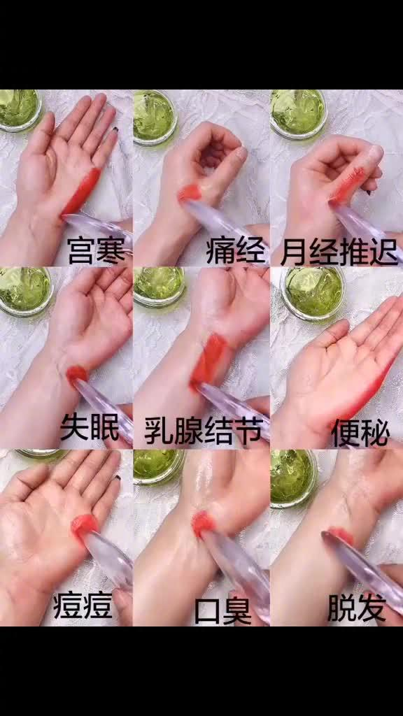 给大家分享一些手部穴位按摩手法……