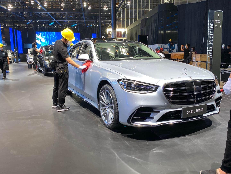2020北京车展探馆   全新梅赛德斯-奔驰S级高光亮相