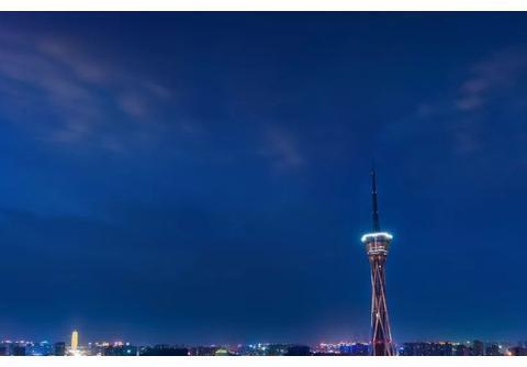 世界第一高钢结构塔就在河南,高388米,比埃菲尔铁塔更霸气