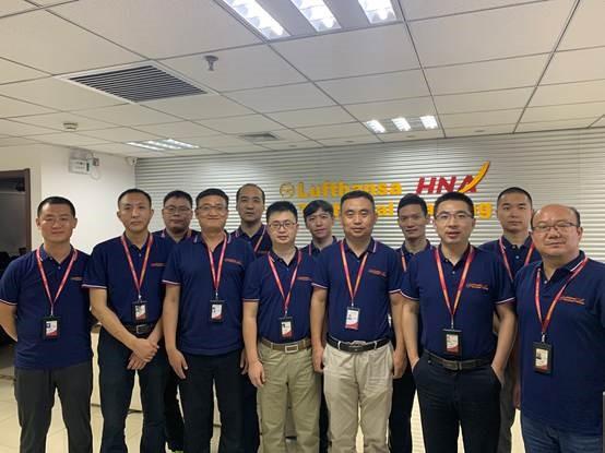 HNA汉莎航空成为西北民航局辖区内首个具备五大机型资格的147培训点