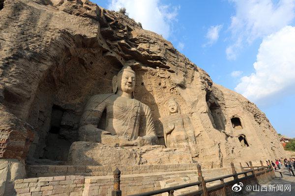 游山西·读历史 | 组图:云冈石窟——刻在石头上的北魏王朝