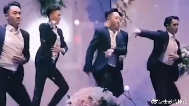 广东婚礼遇见一个这么会跳舞的新郎……