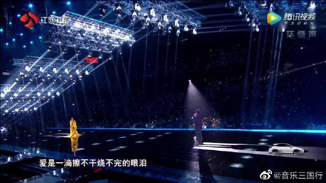 周华健张碧晨合体演绎《神雕侠侣》主题曲《天下有情人》!
