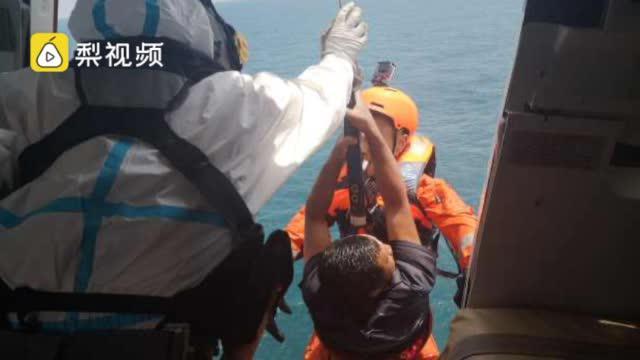 福建一渔船出海遇险沉没,失联船员海上漂流10小时获救