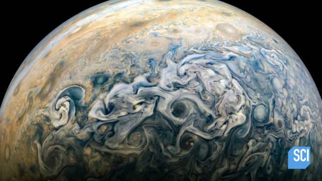 2016年朱诺号木星探测器抵达木星开始作业……