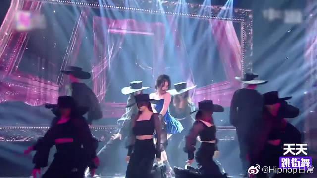 女神宣美全新舞蹈来袭,《紫光夜》全舞台混剪,就一个字:绝