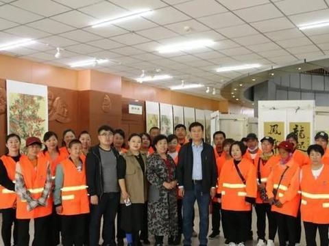 环境集团职工参加献礼祖国·第三届朝阳文化志愿者书画作品展活动