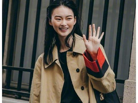 说是刘雯接班人?贺聪最近时尚街拍,这造型真有她的影子!