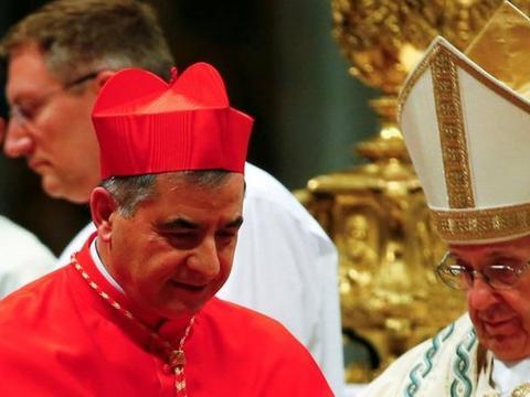梵蒂冈高级官员红衣主教贝乔辞职