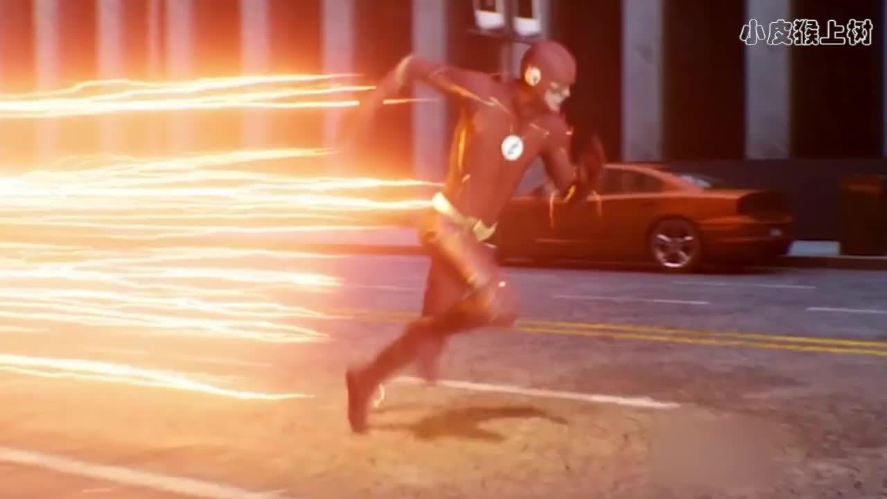 闪电侠穿越到了超女时空,以为超女是个普通人,后来尬尴了