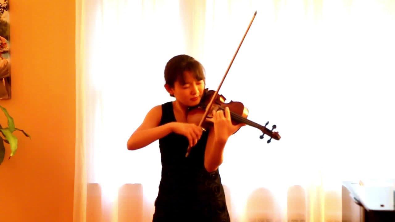 美少女Jennifer Jeon小提琴:《流浪者之歌》