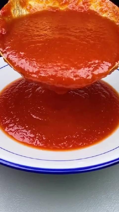 蕃茄酱制作教程!这个做法赶紧收藏,酸酸甜甜吃起来没够