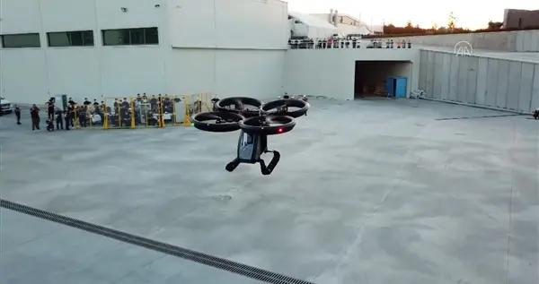 土耳其Cezeri飞行汽车完成首次试飞!网友:大疆无人机