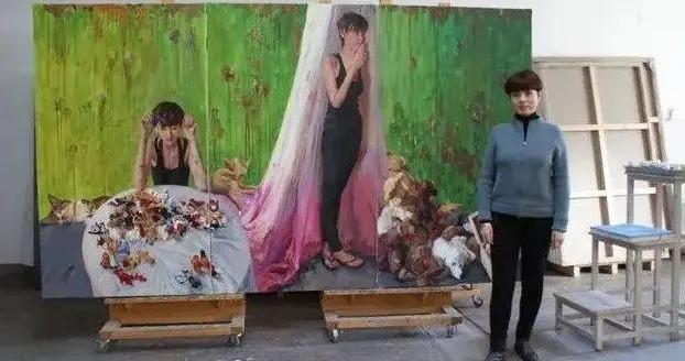 中央美术学院教授——喻红油画作品欣赏