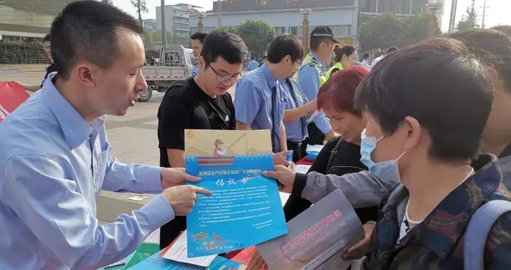 富顺县开展防范化解各类矛盾风险集中法治宣传活动