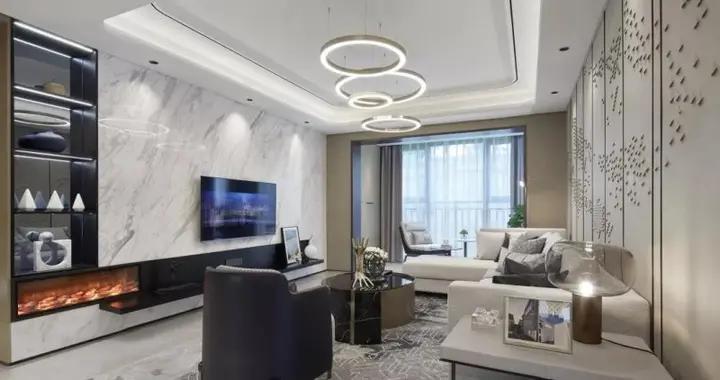这套129平米的三居室,最后还是选定现代风格,效果竟远超预期