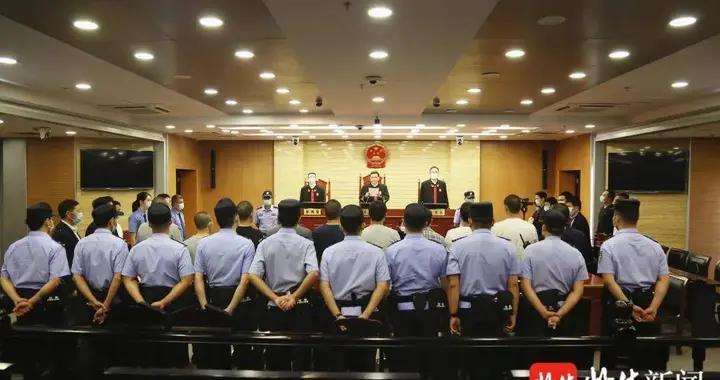 刑期最高18年!常州陈某华、戴某刚等10人涉黑案一审公开宣判