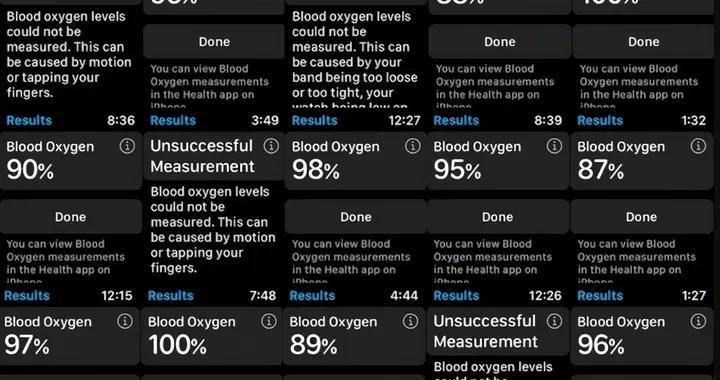 只是噱头?Apple Watch S6血氧监测功能根本不准