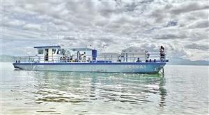 全新蓝藻水华治理技术投入洱海保护