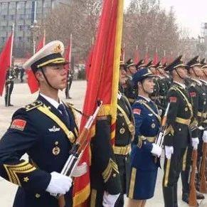亲属有荣光,官兵添动力!解放军仪仗大队接受父母检阅