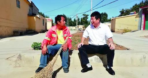 鹤山区派驻鹤壁集镇西马驹河村帮扶责任组:解决了村民吃水难、行路难问题
