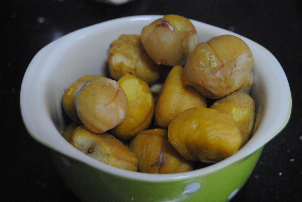 """金秋九月,补充蛋白质别总鸡蛋肉,吃""""干果之王"""",同样美味营养"""