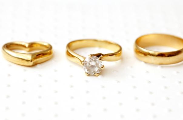 4个金戒指,哪一个年代感最强?测出你是生女儿还是生儿子