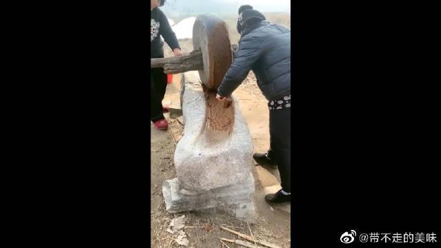 农村人才知道的手工麻酱,不在北京更吃不到,奥利给干就完了!